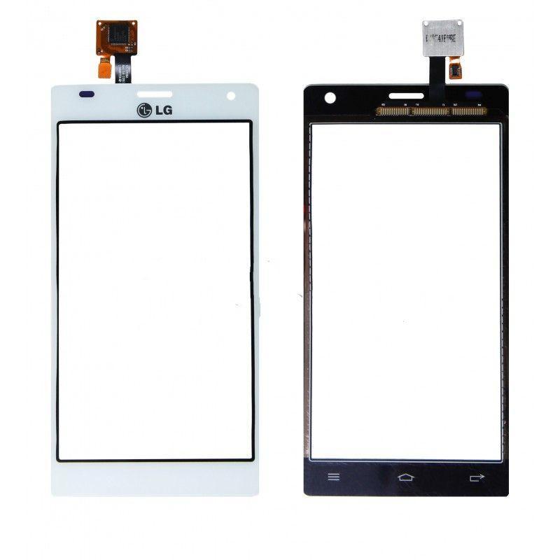 Сенсор (Тачскрін) для LG P880 | Optimus 4X HD (Білий) Оригінал Китай