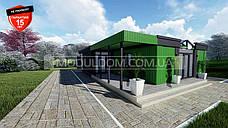 Офисное здание 133 м2, по модульной технологии, на основе цельно-сварного металлокаркаса., фото 2