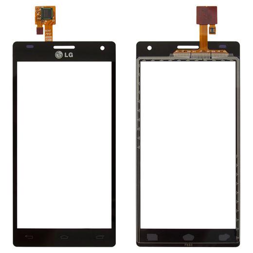 Сенсор (Тачскрін) для LG P880 | Optimus 4X HD (Чорний) Оригінал Китай
