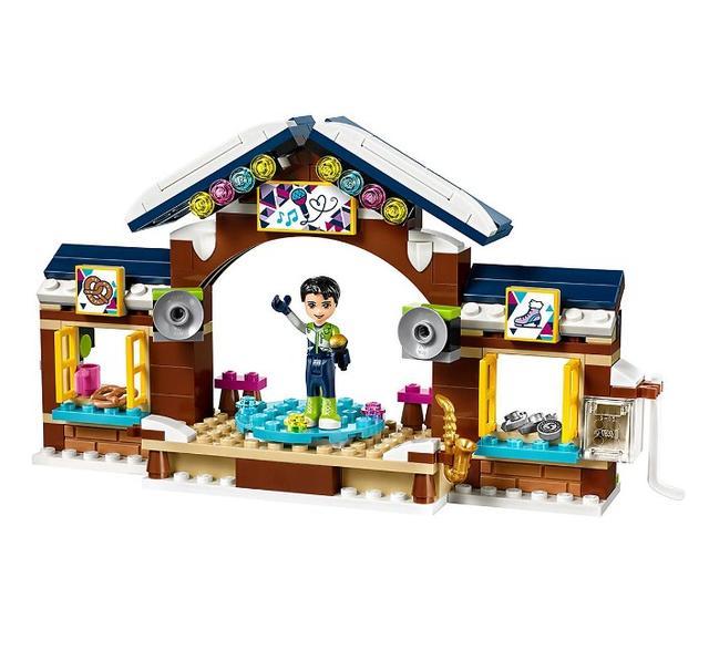 Лего френдс Горнолыжный курорт: Каток 41322