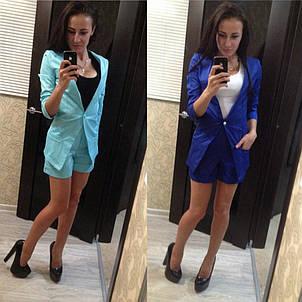 Женский костюм пиджак и шорты , фото 2