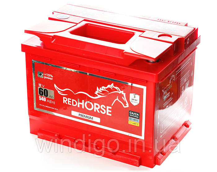 Red Horse 6СТ-60 (1)