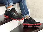 Мужские зимние кроссовки Colambia (черные), фото 4