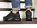 Мужские зимние кроссовки Nike Air Max 720 (черно-мятные), фото 4