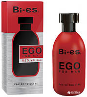 Туалетна вода для чоловіків Bi-es Ego Red Edition Boss - Hugo red 100 мл (5905009042431)