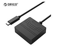 "Адаптер переходник Orico 27UTS-C3 с USB 3.1 Type C на SATA III для 2,5"" HDD/SSD Black, фото 1"