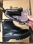 Женские зимние ботинки Dr.Martens Jadon ( FUR ) Classic (Мех), фото 2