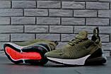 Кроссовки мужские Nike Air Max 270 30831 зеленые, фото 4