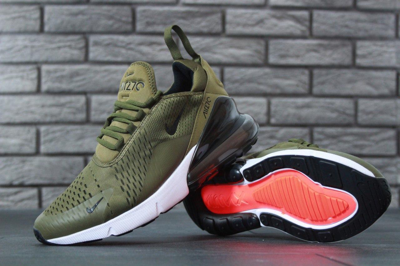 Кроссовки мужские Nike Air Max 270 30831 зеленые
