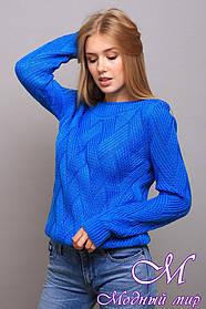 Теплый женский свитер (ун. 46-50) арт. К-13-360