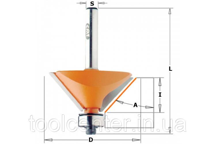 Фреза СМТ 19x11.5,55х8 для фасок с подшипником