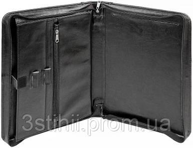 Папка-портфель для документов Exclusive 710400 Черная