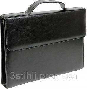 Папка-портфель для документов Exclusive 711300 Черная
