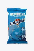 N Вологі серветки 15шт antibacterial  D-pantenol NATURELLE