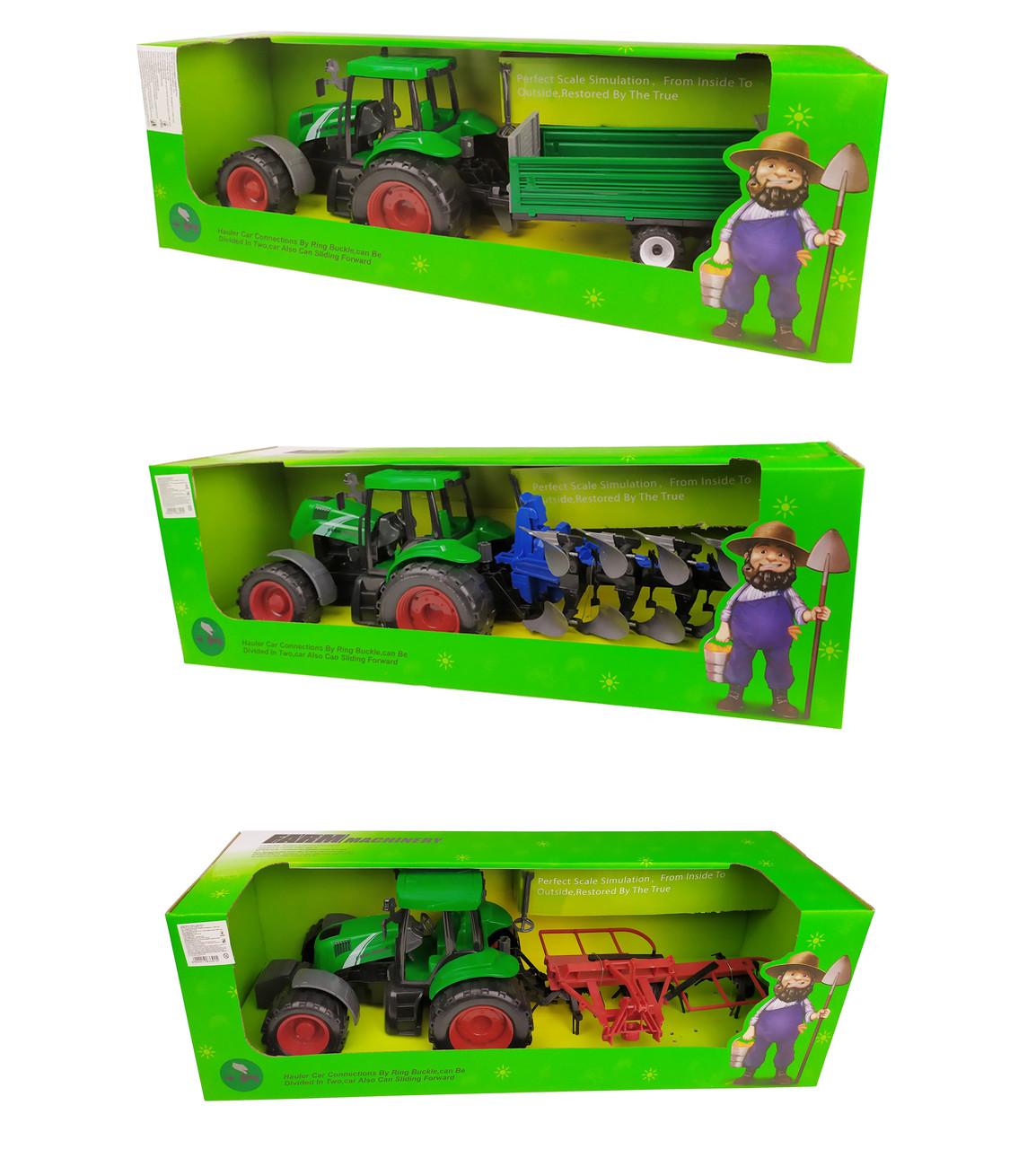 Игрушечный трактор 999A