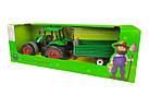 Игрушечный трактор 999A, фото 3