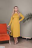 Стильное платье     (размеры 48-52) 0221-98, фото 2