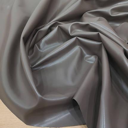 Ткань стрейч-кожа кофе с молоком, фото 2