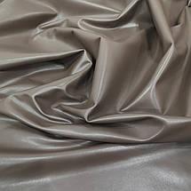 Ткань стрейч-кожа кофе с молоком, фото 3