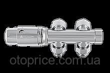 Комплект термостатический угловой хром DUO-PLEX INVENA