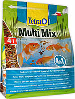 Tetra Pond Multi Mix корм микс для прудовых рыб, 4 л (703792 /136229)