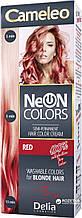 CAMELEO NEON COLORS - фарба для волосся Delia - червоний/red - 60 мл