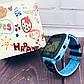 Детские наручные часы Smart F3 смарт вотч часы телефон Gps трекер Синие, фото 3