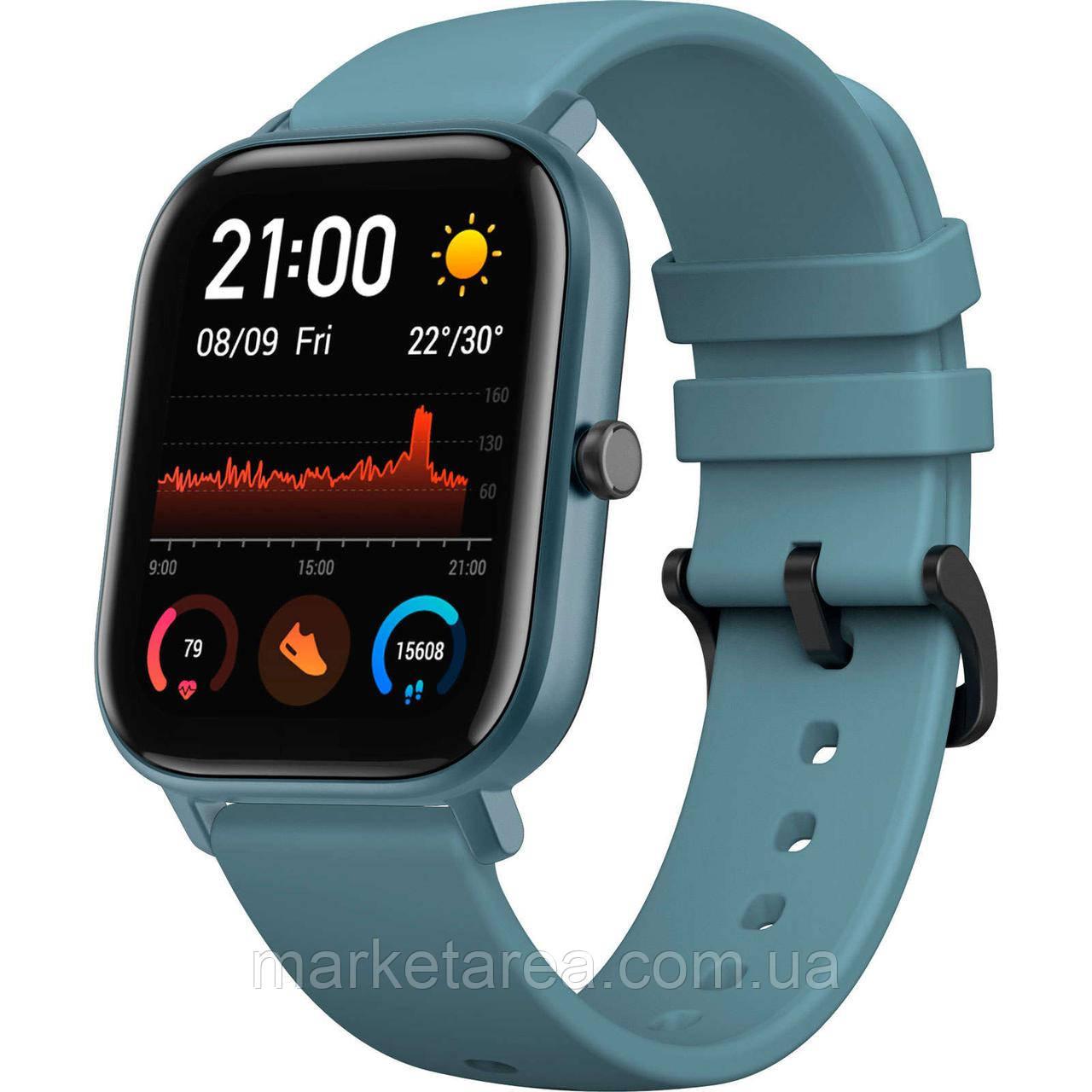 Смарт часы Xiaomi Amazfit GTS Blue