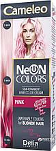 CAMELEO NEON COLORS - фарба для волосся Delia - персик/peach - 60 мл