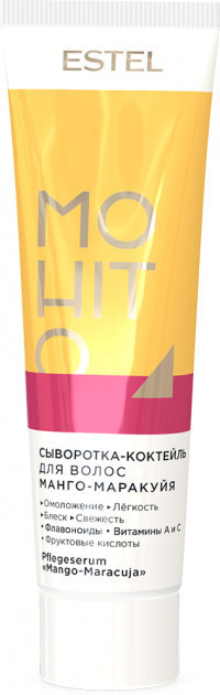 Сироватка - коктейль для волосся Манго-Маракуйя ESTEL MOHITO 60 мл