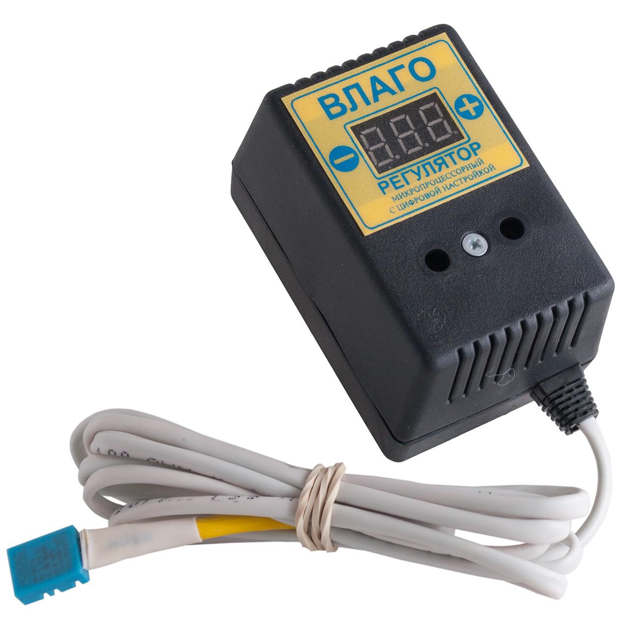 Влагорегулятор цифровой + влагомер ВР-1д для инкубатора (цифровой)