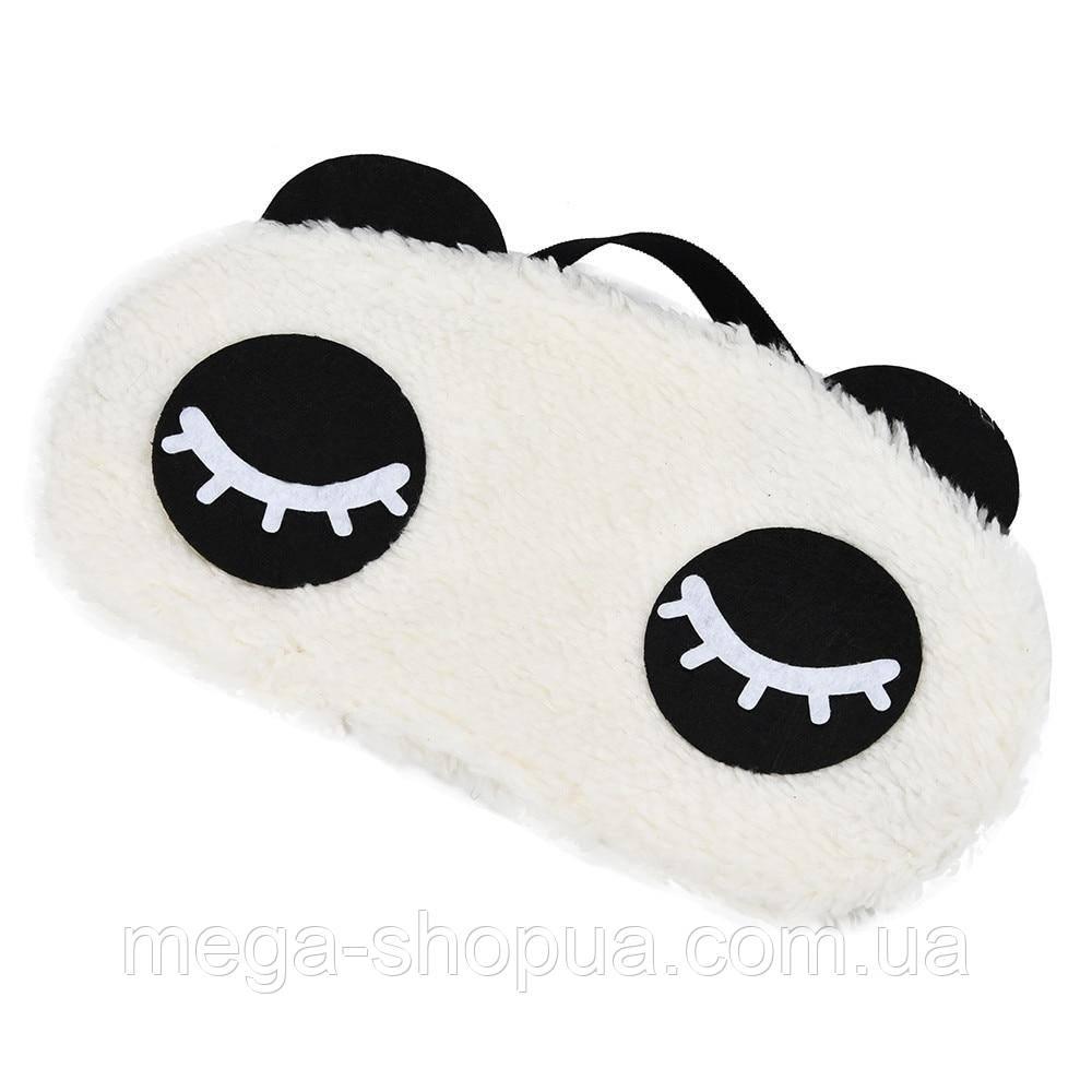 """Удобная мягкая маска для сна """"Panda - 2"""". Повязка для сна. Маска на глаза для сна. Маска для сну"""