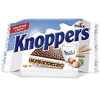 Knoppers Вафли с молочной и шоколадно-ореховой начинками, фото 2