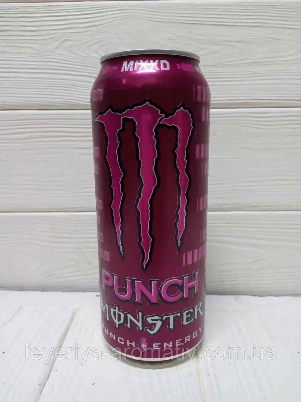 Газированный энергетический напиток Monster Punch MIXXD 500мл