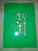 Трафарет для пряника и печенья Святой Николай
