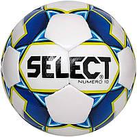 Мяч футбольный SELECT Numero 10 (011) бел/синий p.3