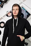 Худи мужская с капюшоном / кофта Side X-black, фото 1