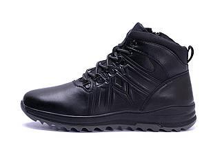Мужские зимние кожаные ботинки в стиле Salomon A-series, фото 3