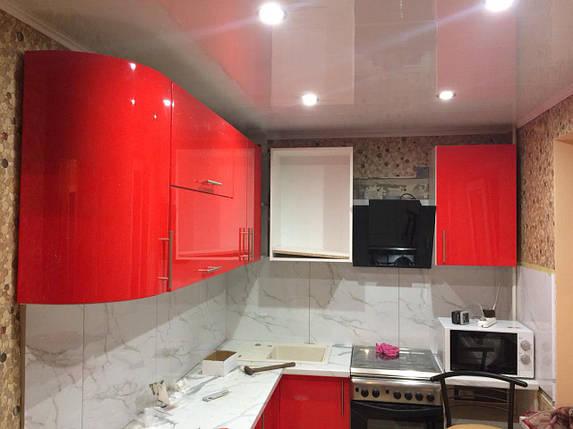 Кухня крашенный мдф Pink, фото 2