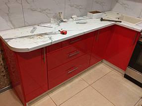 Кухня крашенный мдф Pink, фото 3
