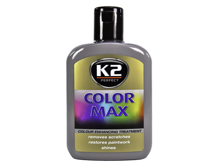 Цветной полироль для кузова K2 Color Max (Grey) 200 мл
