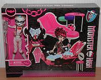 Кукла Монстр Хай и Ванная Комната Дракулауры