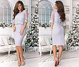 Элегантное женское вечернее платье средней длины 42,44,46 (5расцв), фото 5