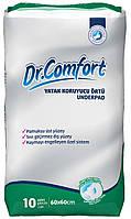 Впитывающие одноразовые пеленки Dr.Comfort 60x60см 10шт