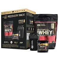 MEGA Pak Optimum Nutrition Whey GOLD Standart + BCAA +Shaker 600ml - Протеин+Бцаа+Шейкер
