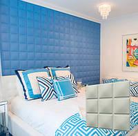 """Гипсовая 3d панель для стен """"Кубики"""" (декоративная стеновая 3д панель)"""