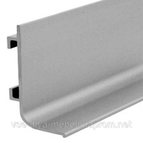 142500 Профиль-ручка Gola алюминий L-образная L-2,75 м