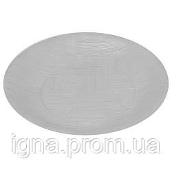 Тарелка стеклопластик прозрачная 20см GS-030 (120шт)