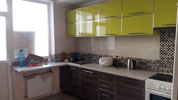 Кухня пластик в профиле №7, фото 2