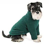 Свитер для собак Pet Fashion ДЖАСТИН S, Длина спины: 27-30см, обхват груди: 32-40см, зеленый, фото 1